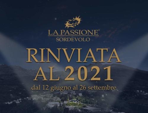 La Passione di Sordevolo rinviata al 2021