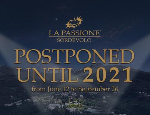 """The """"Passione di Sordevolo"""" postponed until 2021"""